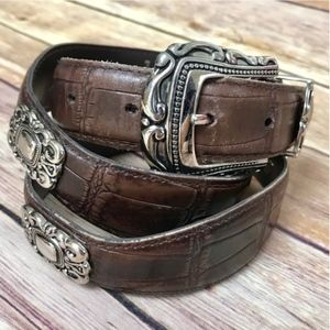 Accessories - Country Style   Brown Leather Belt